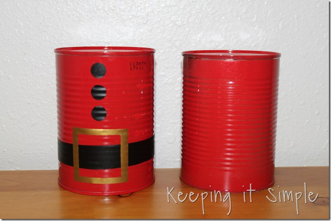 Christmas bowling cans (6)