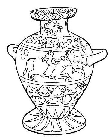 Jarrones para pintar imagui for Como pintar jarrones de ceramica