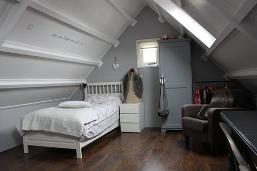 imgbd - inrichting slaapkamer onder dak ~ de laatste, Deco ideeën