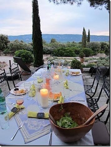 Dinner on the Veranda