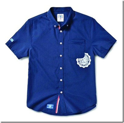 Monster University X Giordano - Blue Collar Shirt Men