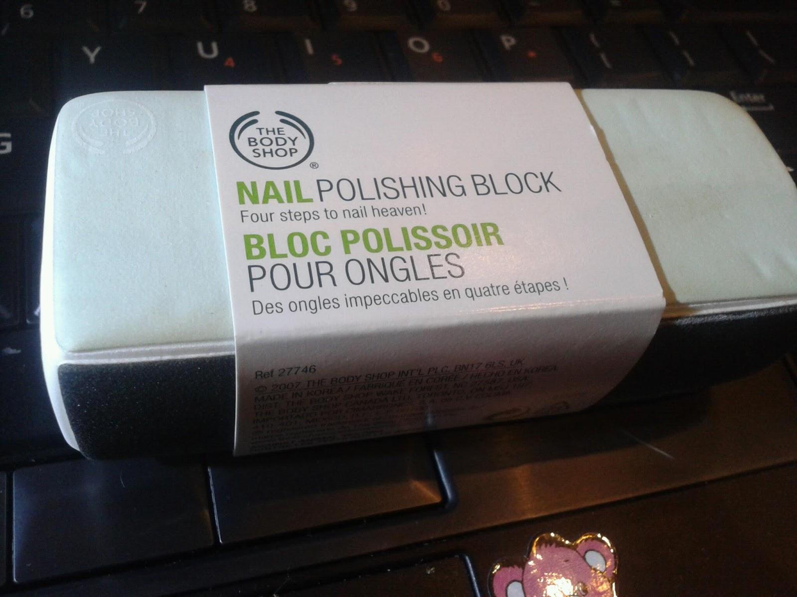 illy ariffin.com: Nail Buffer - Body Shop