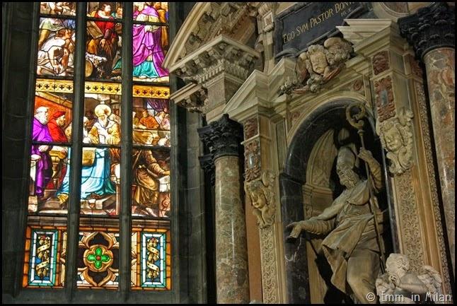 Milan Duomo La cappella di san Giovanni il Buono