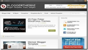 top 20 free blogger templates sites 14 Blogger Theme