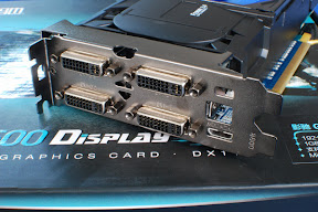 Galaxy GeForce GTX 550 Ti Display4 Graphics Card Pictured