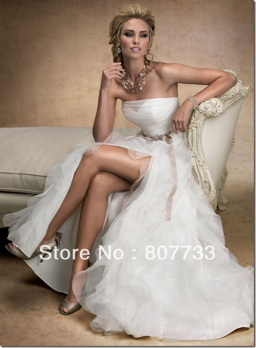waist-wedding-dress-2013
