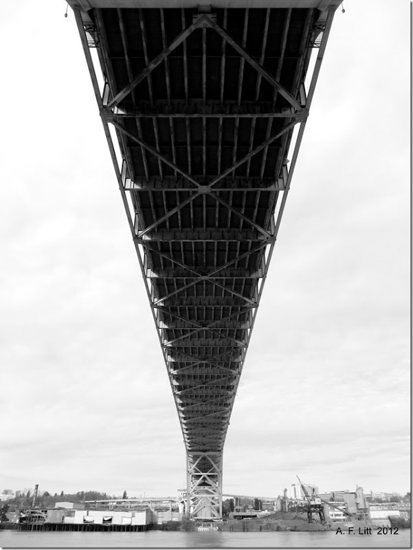 Fremont Bridge.  Portland, Oregon.  April 2, 2012.  Photo of the Day, May 12, 2012.