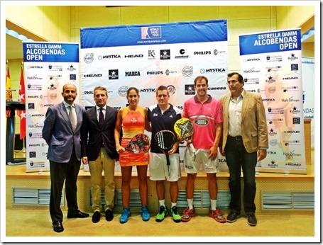 Alcobendas (Madrid) alberga el Circuito World Padel Tour por primera vez.