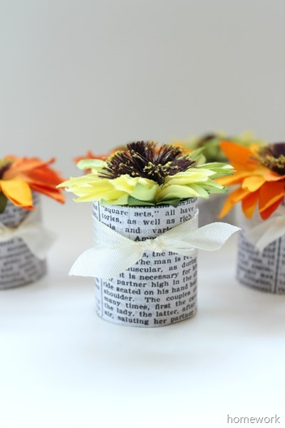 Paper Flower Favors 3