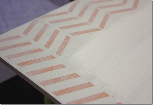 FHE Board Herringbone painting