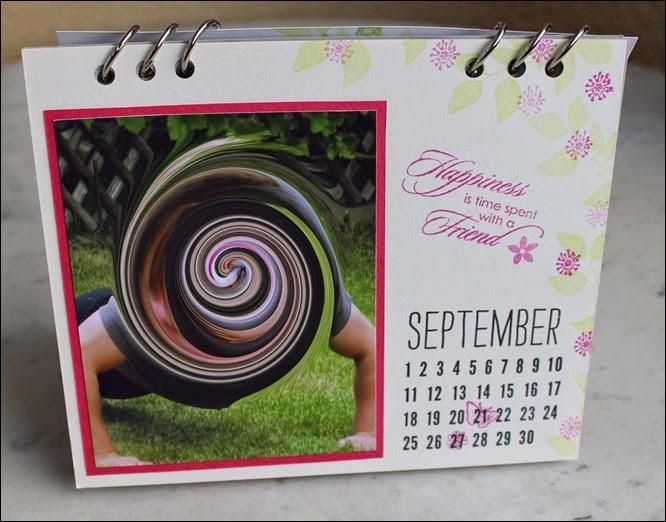 Tischkalender 2015 selbermachen basteln Blanko Vorlage 12