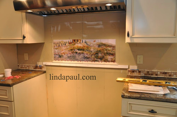 How To Install Tiles Backsplash Mural How To Install Backsplash