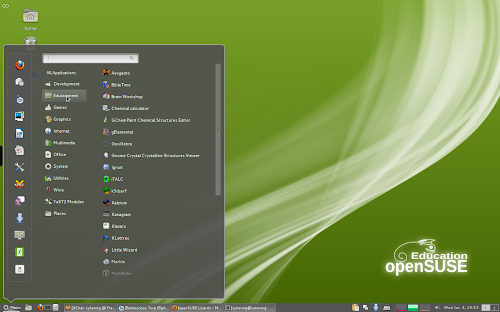 Cinnamon in openSUSE