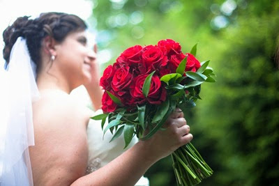Red Rose Wedding Flowers 30