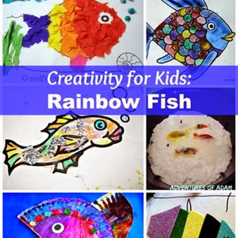 Preschool Art Activities: Rainbow Fish