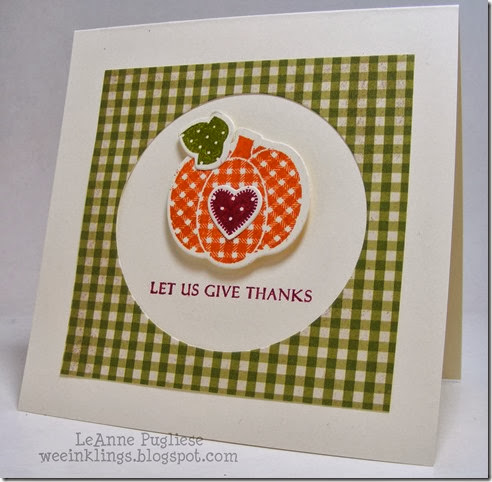 LeAnne Pugliese WeeInklings Pretty Patches Pumpkin CASology 66