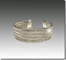 Silver Athena Cuff