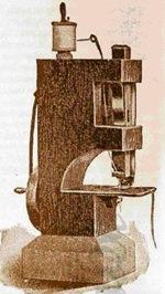 Willcox Gibbs maq madeira