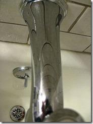 tub faucet clean