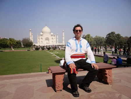 13. Imperator la Taj Mahal.JPG