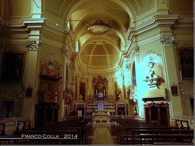 Dentro alla chiesa di San Girolamo, Foto1