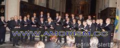 DSC05762.JPG Stockholms Allmänna Sångförening  Riddarholmskyrkan Gustav II Adolfsdagen med  amorism