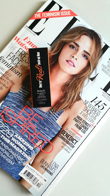Elle magazine Benefit They're Real liner freebie