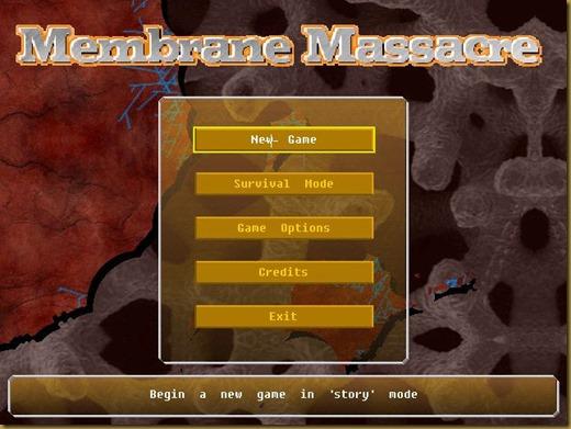 Membrane Massacreタイトル