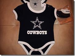 5.  Cowboys onsie