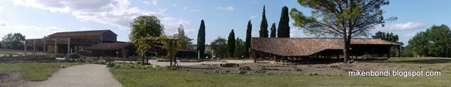 La Villa de Séviac - panorama