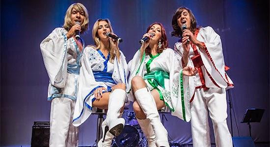 Musical Abba The History será apresentado sábado, dia 30, em Salto