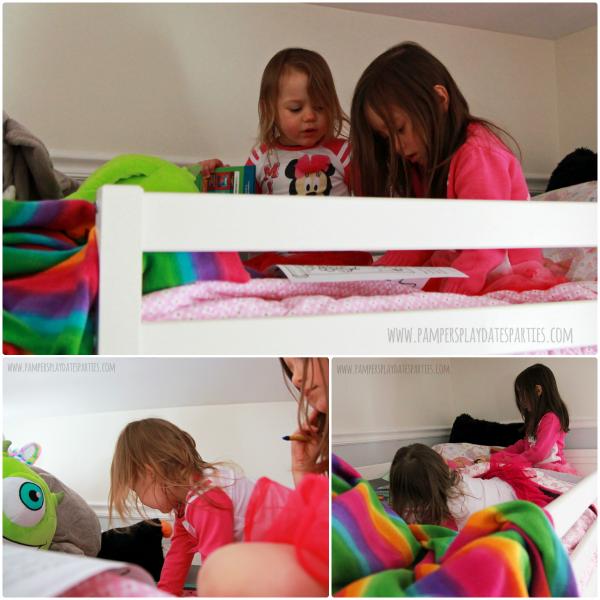 Girls Room Update Loft Play