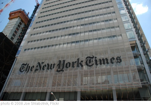 'The New York Times' photo (c) 2008, Joe Shlabotnik - license: http://creativecommons.org/licenses/by/2.0/