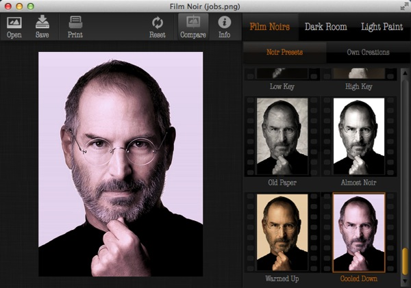 Mac app photography film noir4