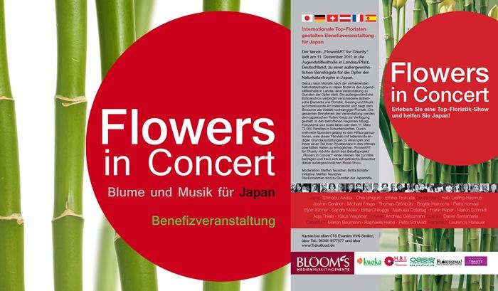 flowers in concert