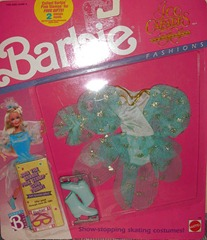 Barbie Ice Capades Show Outfit Blue 1989