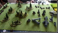 Game 1 Table Set-up