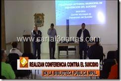 IMAG. REALIZAN CONFERENCIA CONTRA EL SUICIDIO EN LA BIBLIOTECA PUBLICA MPAL..mp4_000005905