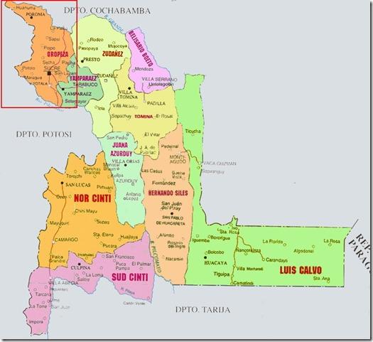 Provincias de Chuquisaca