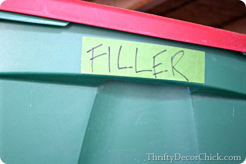 labeling bins with frogtape