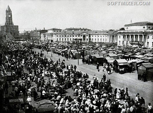 Гастрономические впечатления от Москвы 1925 года