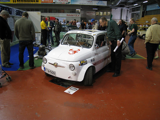 Fiat 500 Abarth 695 -replika