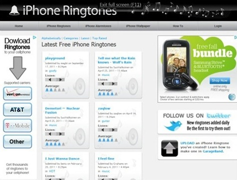 iPhoneRingtones