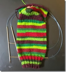 Basic Sock 1 - Lollipop Yarn - Christmas Carol