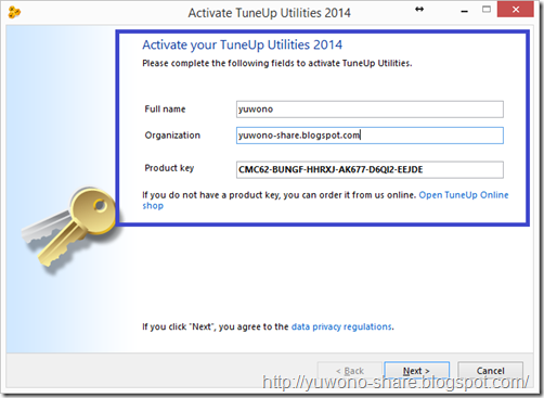 tuneup utilities 2014 serial key only