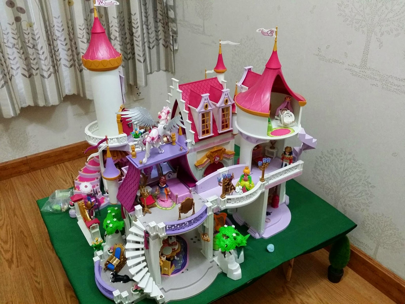 Playmobil 5142 5474 princess castle diorama playmobil for Playmobil princesse 5142