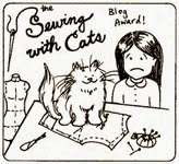 Sewing With Cats 01