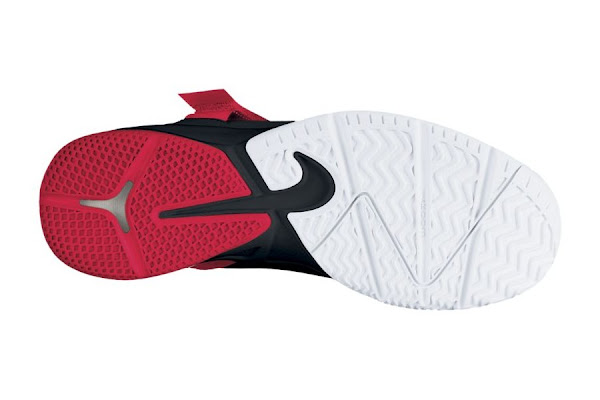 Nike Zoom Soldier VI in Black White and Red Available at Nikestore