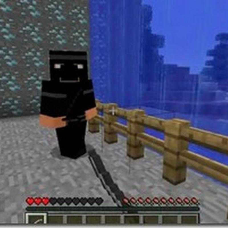 Minecraft 1.2.5 - Ninjas Mod