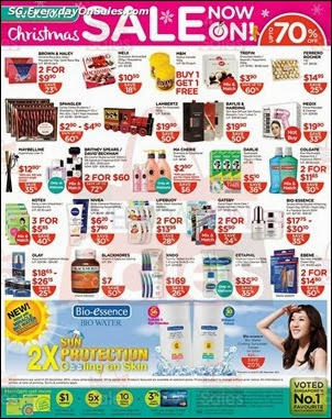 Watsons Christmas Sale Singapore Jualan Gudang Jimat Deals EverydayOnSales Offers